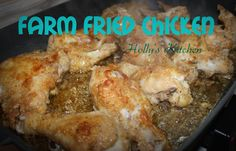 Farm Fried Chicken is so delicious! Amazing flavor and crispy goodness! Your whole family will love it!