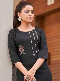 Per Piece Price :- ₹365 Minimum Order :- 11 Pcs Full Set Price :- *₹4,015 + ₹201 (GST 5%)* *Fabric Description* Top :- Heavy Magic Cotton With Embroidery Work Size :- M(38), L(40), XL(42), XXL(44), XXXL(46) Ladies Wear, Women Wear, Kurtis With Pants, Rayon Kurtis, Fancy Hands, Fancy Gowns, New Launch, Full Set, Casual Wear