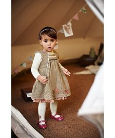 Mamas and Papas baby girl toddler girl dress