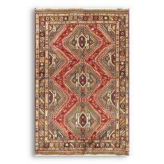 Authentic Persian Kashkayi Rug
