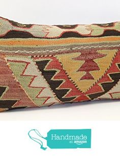 Anatolian kilim pillow cover 14x24 inch (35x60 cm) Bohemian Lumbar Kilim pillow cover Anatolian Pillow Home Design Kilim Cushion Cover https://www.amazon.com/dp/B06XKNKT2K/ref=hnd_sw_r_pi_dp_RM.Xyb4QBXSE5 #handmadeatamazon