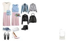 Без названия #2 by fashionsetter-598 on Polyvore featuring мода, Alberto Biani, J.Crew, Sans Souci, LE3NO, IRO, Max&Co., Vans, Nine West and Senso