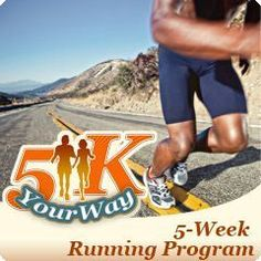 5 week Running plan to prepare for a 5K