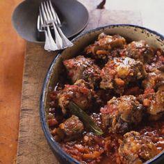 Spanish-Style Oxtails Braised with Chorizo