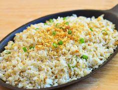 Authentic Asian Recipes: Garlic Rice Recipe