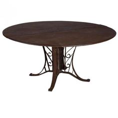 Riveted French Centre Table for sale at Pamono