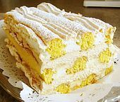Kardinalschnitten - Food and Drink Healthy Cake Recipes, Poke Cake Recipes, Vanilla Coffee Cake Recipe, Austrian Recipes, Different Cakes, Sweet Pastries, Strawberry Recipes, Food Cakes, The Best