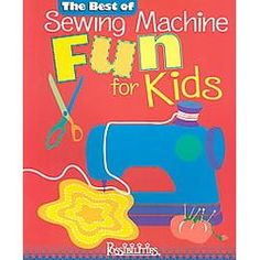 This is a great book for teaching kids to sew. I'll be going through this one with the kids!