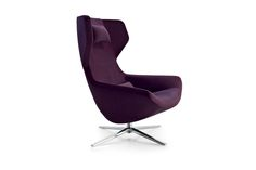 B&B Italia Metropolitan '14 Swivel Armchair from Space Furniture
