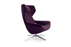 B&B Italia Metropolitan '14 Swivel Armchair from Space Furniture
