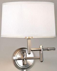 Pivoting Swing-Arm Pin-up Lamp - Wall Lamps - Wall Lighting - Lighting | HomeDecorators.com