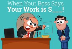 So what should you do when #boss criticises your work?