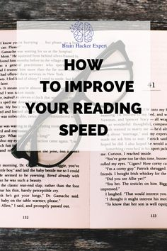 Reading Test, Speed Reading, How To Read Faster, Learn Faster, Reading Strategies, Reading Skills, Writing Skills, Best Study Tips, Personal Development Skills