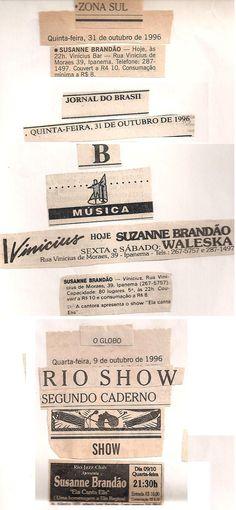 1996 - Jornal do Brasil / O GLOBO