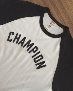 #Champion x Todd Snyder Plated #Raglan (115 CAD)