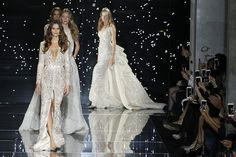 PARIS, FRANCE – JULY 09:  Izabel Goulart walks the runway during the Zuhair Murad  show as part of Paris Fashion Week Haute Couture Fall/Winter 2015/2016 on July 9, 2015 in Paris, France.  (Photo by Antonio de Moraes Barros Filho/WireImage)