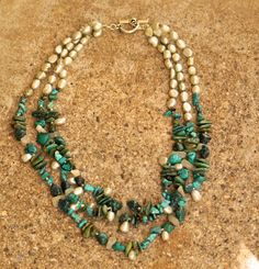 Turquoise Spirited by goodkarmaworld -- find hand made turquoise jewlery @ www.blucats.com