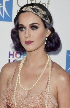 Pretty makeup and hair. Gorgeous 20's look for Great Gatsby premire by Charlotte Fisher