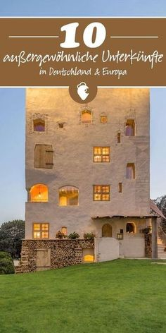 tree house to castle, we have selected 10 top exceptional accommodations for you! ♥ ️ Discover now.- tree house to castle, we have selected 10 top exceptional accommodations for you! ♥ ️ Discover now. Solo Travel Europe, Camping Europe, Top Europe Destinations, Holiday Destinations, City Breaks Europe, Europa Tour, Places To Travel, Places To Go, Destination Voyage