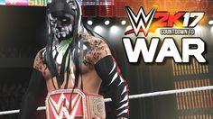 WWE 2K17 - TOP 5 FINN BALOR WWE WAR PAINTS THAT WE WANT!