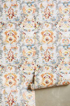 Frosted Kaleidoscope Wallpaper - anthropologie.com