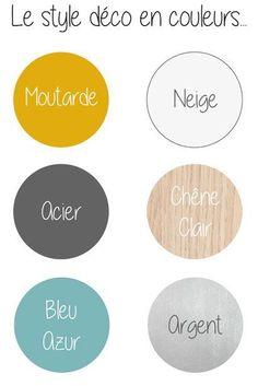 Relooking et décoration   Image   Description   scandinave-couleurs