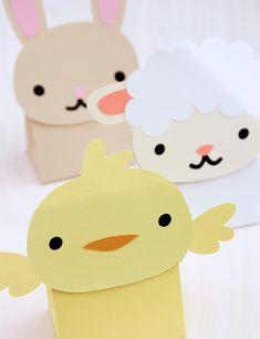 Baby Animal Treat Boxes