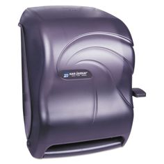 San Jamar Lever Roll Towel Dispenser Oceans Pearl 12 15/16 x 9 1/4 x 16 1/2