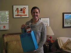 Jessica Bunch, a student in MUSC's Physicians Assistant Studies program, brought in a bag of donated clothing items for our youth on Dec. 5.#spiritofgiving