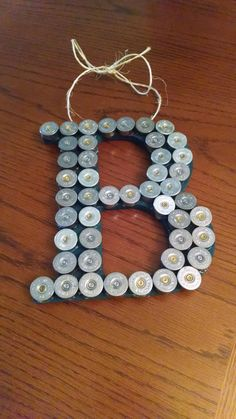 Shotgun Shell Letter Personalized by SouthernHomeArt on Etsy, $20.00