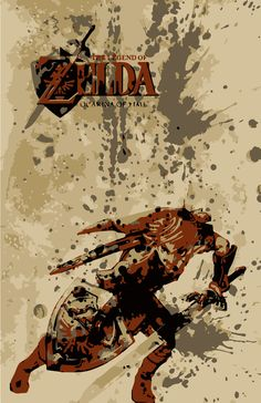 The Legend of Zelda Ocarina of Time Poster