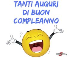 Auguri di compleanno immagini Happy Birthday Video, Birthday Wishes, Happy B Day, New Years Eve Party, Beautiful Words, Messages, Gifts, Happy Aniversary, Smile