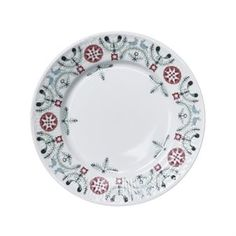 The Swedish Grace Winter side plate by Rörstrand has an obvious place on the dining table during Christmas and the rest of the winter half-year. It's a wintry version of the classic tableware Swedish Grace that Louise Adelborg designed in 1930. The winter Edition has a beautiful pattern with spruce needles, mistletoes and snowflakes, created by Katarina Brieditis. Classic but with a modern touch!