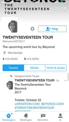 Beyoncé TWENTYSEVENTEEN World Tour 2017 Tickets Go On Sale After TIDALX10/15