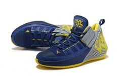 arrives 2686f bb0ae 2 Navy Blue Yellow AA2510-111 Men s Basketball Shoes