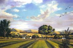 """The Meadow by Lou's by Nancee Jean Busse Pastel ~ 36"""" x 48"""""""