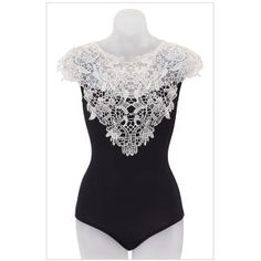 Lace Top Bodysuit - Women's Clothing & Symbolic Jewelry – Sexy, Fantasy, Romantic Fashions I hate bodysuits, but for this I might make an exception!