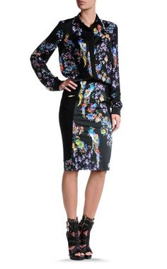 Knee length skirt Women - Skirts Women on Just Cavalli Online Store