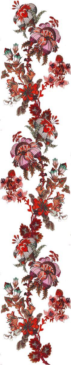 Botanical Art, Textile Design, Flower Art, Sketching, Digital Art, Printing, Textiles, Concept, Women's Fashion