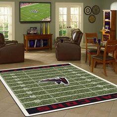 Atlanta Falcons Rug NFL Football Field
