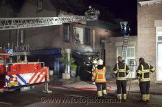 Grote brand bij woonwinkel Rivièra Maison in Laren - FotoJakma.nl