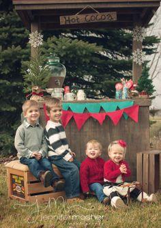 Holiday Mini Hot Cocoa Stand