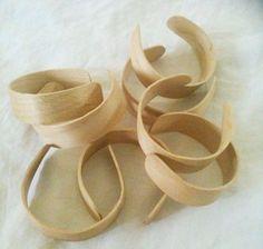 popsicle stick bending for bracelet
