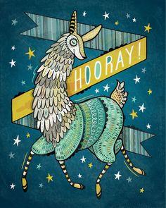 Hooray for Llamas
