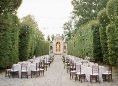 Magical Wedding Reception at the Gardens on Villa Arconati in Milan Wedding Venues Italy, Luxury Wedding Venues, Italy Wedding, Wedding Reception, Magical Wedding, Dream Wedding, Wedding Dreams, Milan Italy, Wedding Decorations