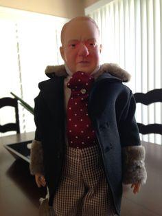 W. C. Fields Centennial Doll, ALL Original by AntiqueologieTheShop on Etsy