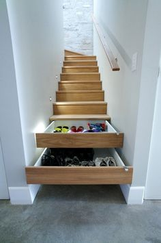 10 clever storage solutions snuck into small spaces around the home to help you maximize your space.