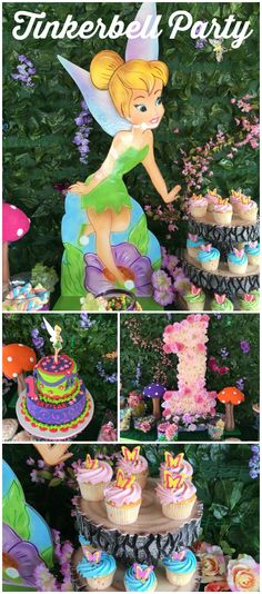 You have to see this fantastic Tinkerbell party! See more party ideas at CatchMyParty.com!