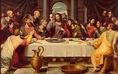 Juan de Juanes 'the Last Supper'