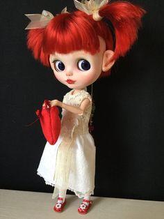 """OOAK Custom Blythe Art Doll """"Maddie"""" by Bravura Dolly"""